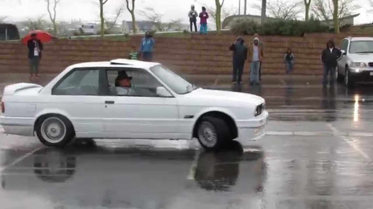 Bmws Playing In The Wet E30 325is E39 M5 F23 2series