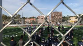 Fort Hamilton vs Brooklyn Tech (JV) 9-30-18
