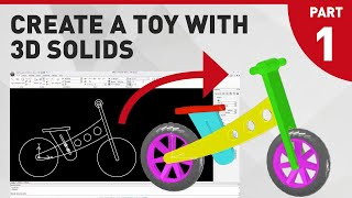 Create A Toy - With 3d Solids_part 1