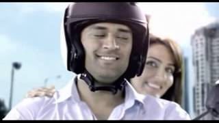 Exide Wife- Beautiful ad, DHONI WITH SUDEEPA SINGH.