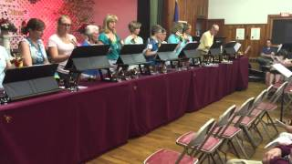 Winchester Grange Music Night - The Cherry Brook Chimes Bell Choir