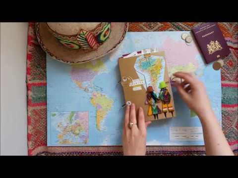 Travel JOURNAL SOUTH AMERICA | flip trough | het TRAVEL LAB