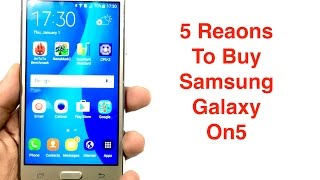 5 Reasons why you should Buy Samsung Galaxy On5