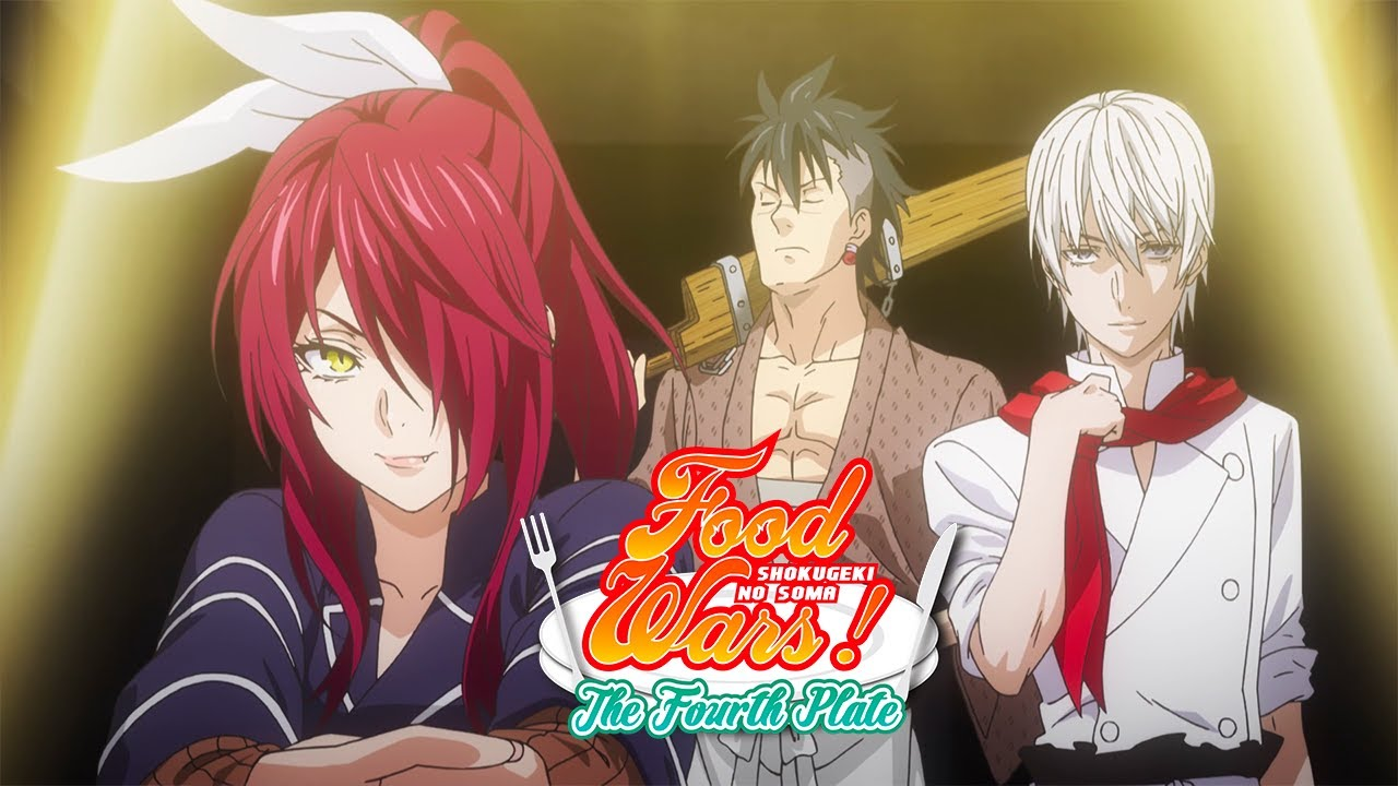 Deuxième round | Food Wars! The Fourth Plate - YouTube