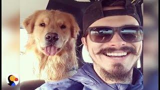 Dog Copies His Dad's Facial Expressions | The Dodo
