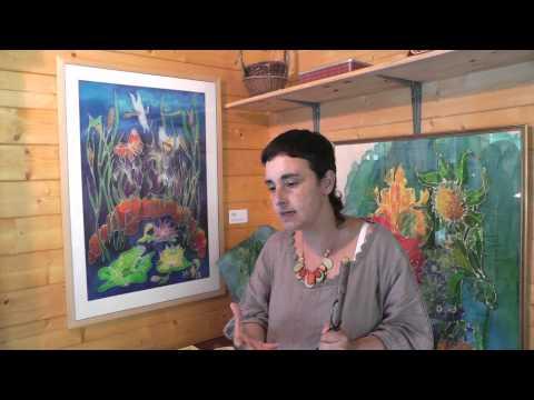 Interviewing Karen Merryweather, Batik artist