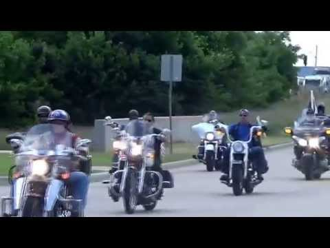 Back The Blue Ride To McKinney Police Department.