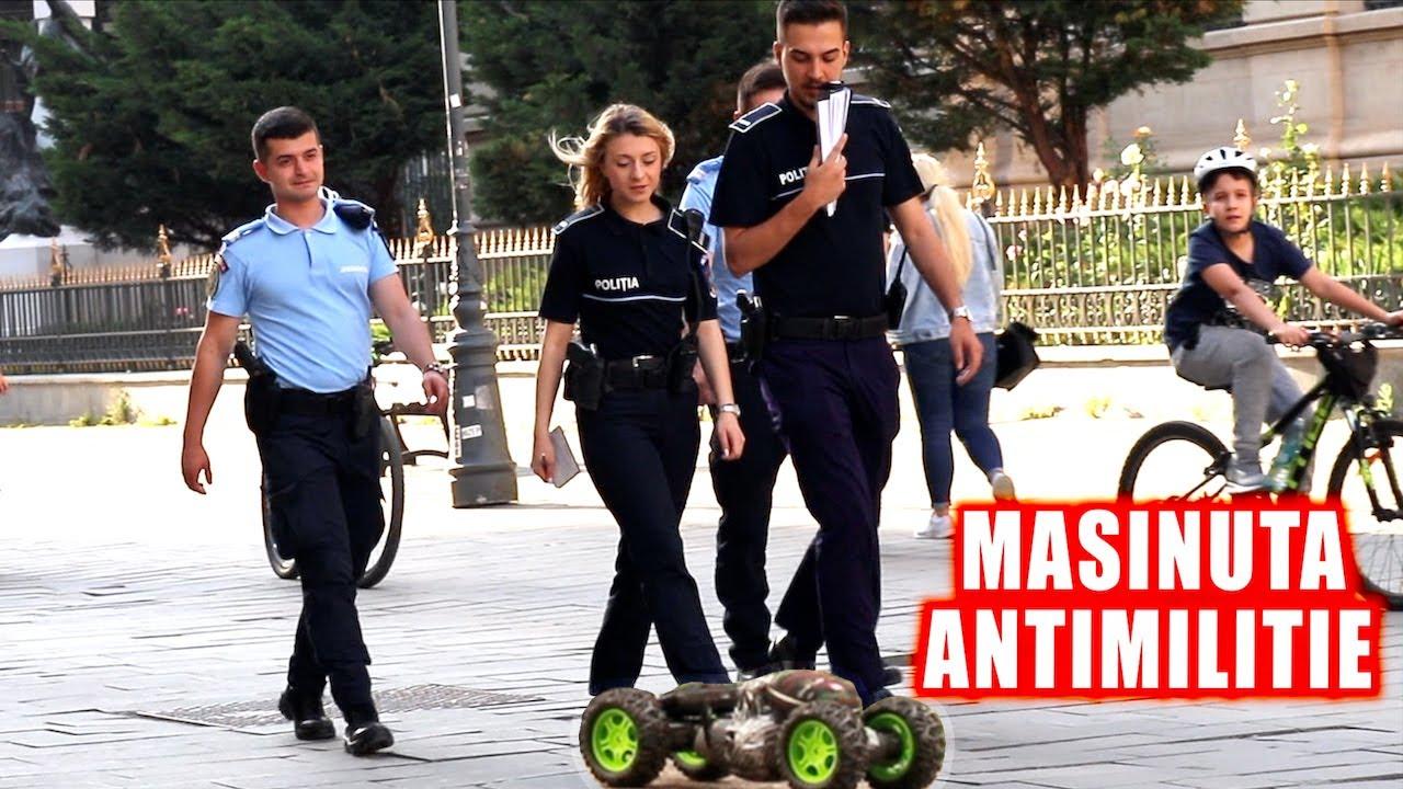 Mașinuța Antimiliție. Farse cu Poliția Română. Siguranță și Încredere