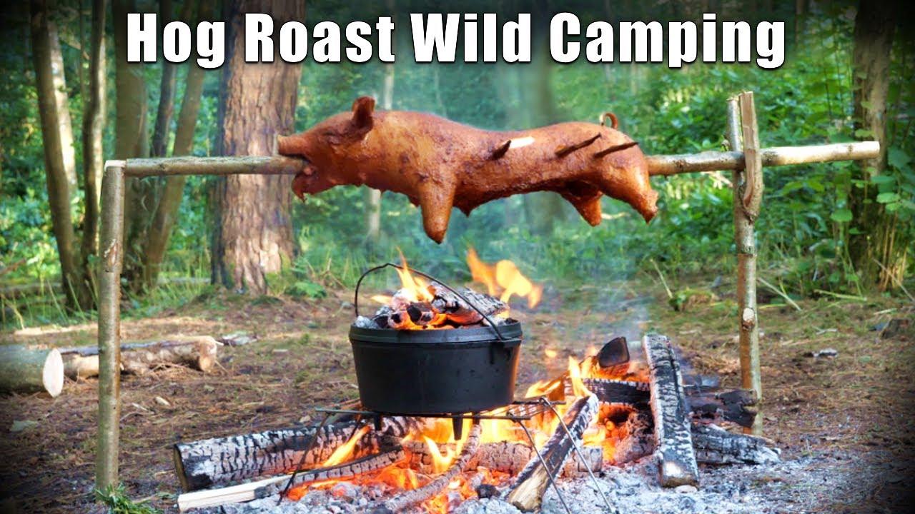 Wild Woodland Camping with Epic Hog Roast