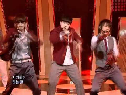 Super Junior - Sorry Sorry (슈퍼주니어 - Sorry Sorry) @ SBS Inkigayo 인기가요 20090405