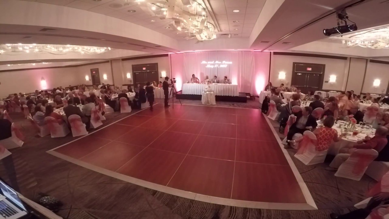Pittsburgh Airport Marriott Wedding Reception Time Lapse Chelsea
