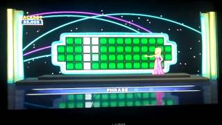 Wheel Of Fortune XBox360 Game 1 Part 1