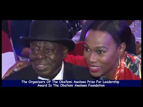THE OBAFEMI AWOLOWO PRIZE FOR LEADERSHIP AWARD