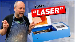 K40 Laser Cutter & Engraver - What Do You Really Need To Get Started?