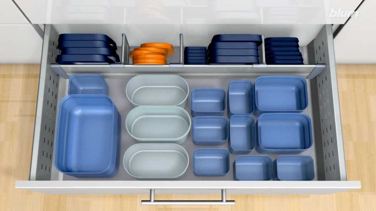 Large Drawer Tupperware Storage - YouTube