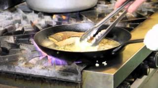 Pan-seared Salmon With Lemon Caper Sauce
