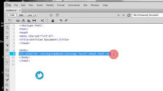 Membuat Huruf Tebal Dengan Tag HTML