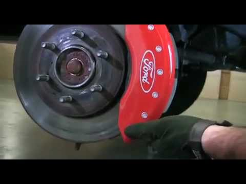 Mgp Caliper Covers Ford F 150 Installation Youtube