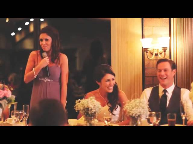 The most hilarious maid of honor speeches ever