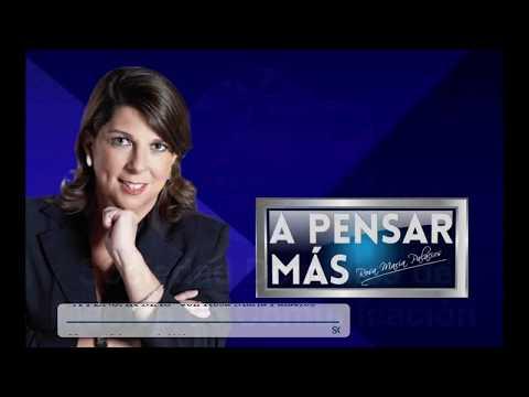 A PENSAR MÁS CON ROSA MARÍA PALACIOS 15/03/19