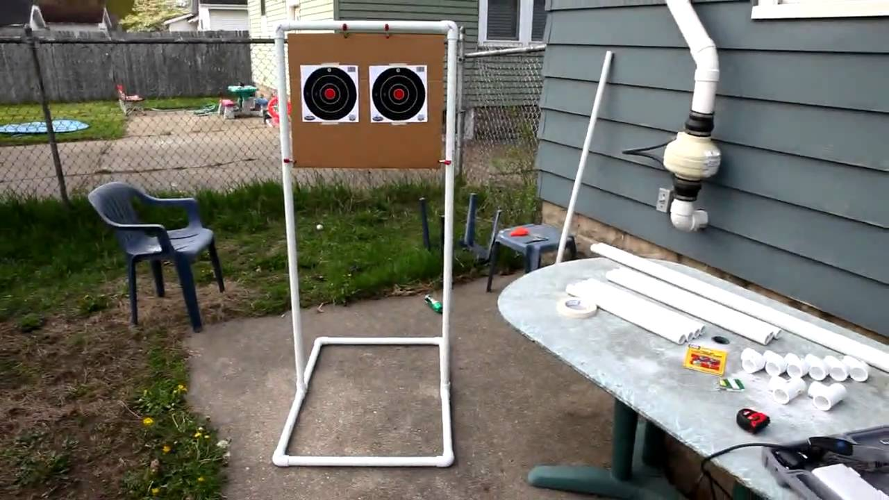 Cheap Portable Target Stands Youtube