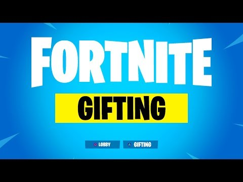 THE ONLY WORKING WAY TO GIFT SKINS IN FORTNITE
