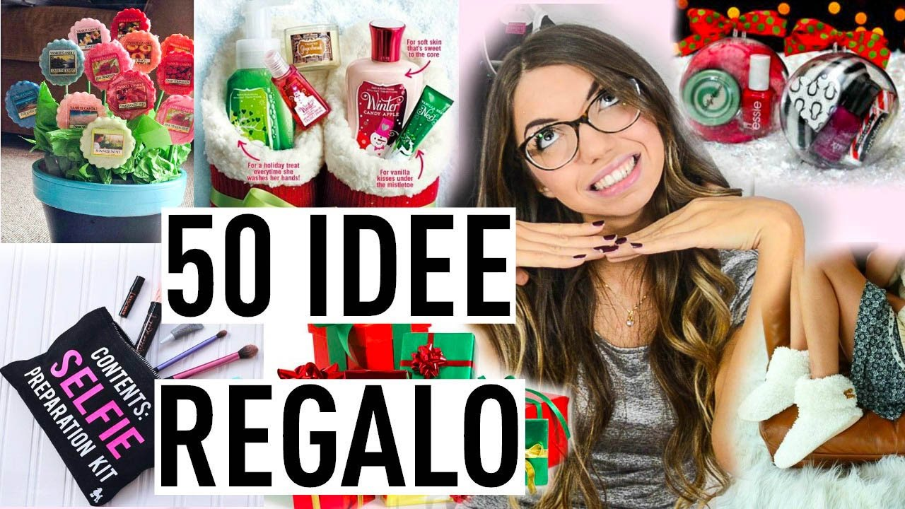 50 IDEE REGALO LOW COST!!! UOMO DONNA | Carolina Chiari - YouTube