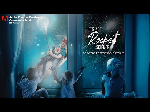 It's not Rocket Science | Speed Art (Photoshop) - Commissioned by Adobe