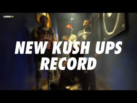 Kush Ups Record Smoking Weed & Push Ups