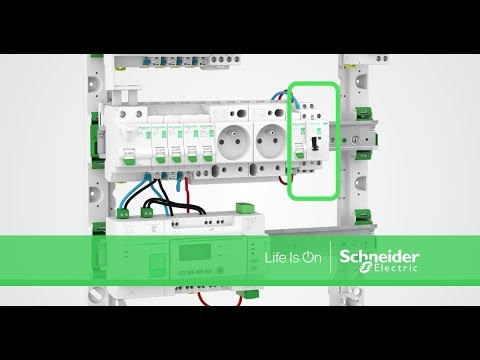 Comment Installer Un Contacteur Wiser Pour Resi9 Schneider Electric
