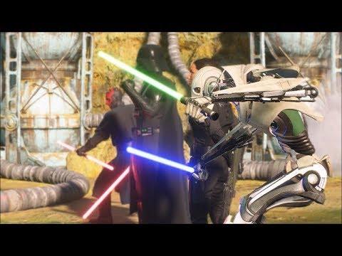 Star Wars Battlefront 2 Heroes Vs Villains 602 General Grievous MVP Dominance thumbnail