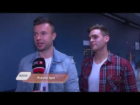 Backstage 18 11 2017 Sergej Ćetković, Hrvatska Noć, Goran Bare, Mejaši