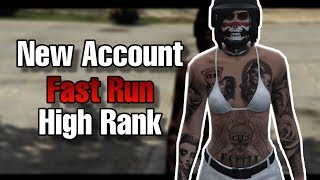 Pulled Out An Old Account, It Has FAST RUN (Putting Oufits & Frozen Money) - GTA Online