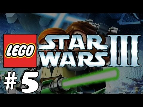 LEGO Star Wars III: The Clone Wars #5 - [Count Dooku] Anakin Skywalker & The Jedi Crash and Fight |