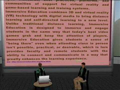 Aaron Walsh : Immersive Education and the Education Grid