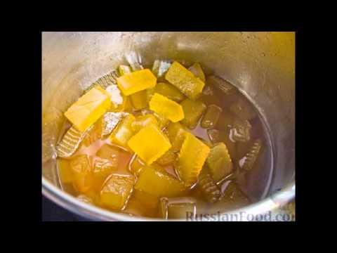 Рецепт корки арбузные