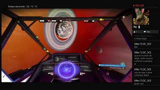 Transmissão ao vivo No Man's Sky Next so mexendo Nas farms