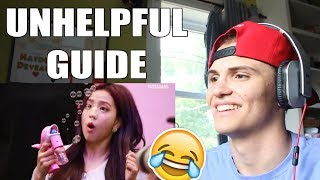 UNHELPFUL GUIDE TO BLACKPINK REACTION