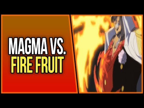 Could the Fire Fruit be Stronger than Magma? | ワンピース