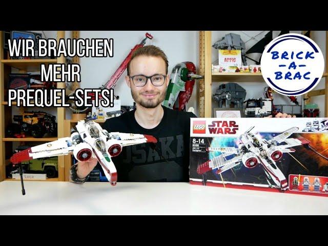 Wir brauchen mehr PREQUEL-Sets! LEGO® Star Wars 8088 ARC-170-Starfighter [Review]
