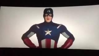 Человек паук: Возвращение домой. Вторая сцена после титров с Капитаном Америка