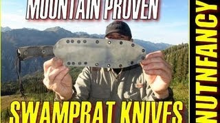 """Swamp Rat Knives: Mountain Proven"" by Nutnfancy"