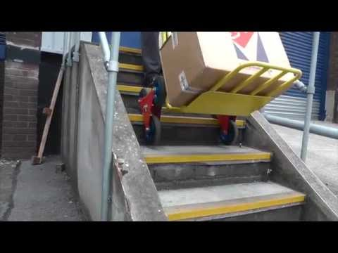 Stair Climber Sack Truck 200kg Youtube