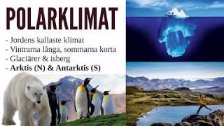 Geografi - Klimatzoner