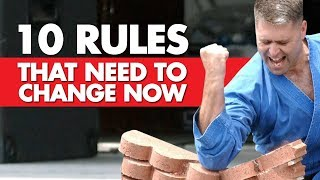 10 Rules That Need to Change NOW in MMA