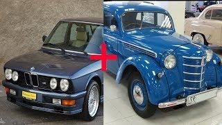 Что будет если скрестить Москвич и BMW ? HOT ROD