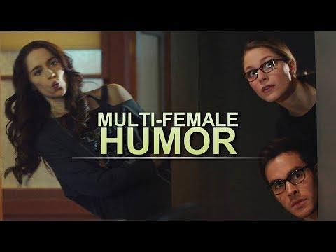 Multi-Female • 'As a lesbian...supporter.' [HUMOR]