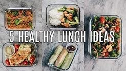5 HEALTHY LUNCH IDEAS FOR WORK & SCHOOL