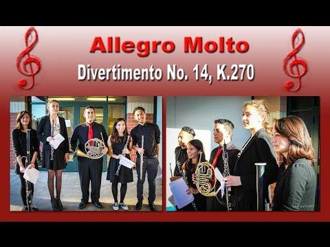 SCSBOA Solo & Ensemble Festival 2015 - Allegro Molto by W.A. Mozart