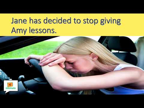 (CURSO INGLÉS COMPLETO) Lesson 18 - Learning how to drive.